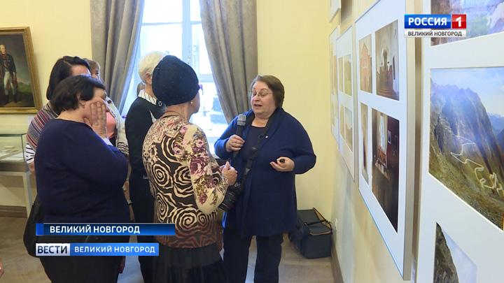 В Великом Новгороде открылась уникальная фотовыставка, посвященная 220-летию итало-швейцарского похода русских войск под командованием Суворова